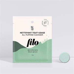 Filo - 100% Natural Cleaning Tablet to Dissolve - All Purpose
