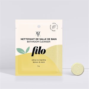 Filo - 100% Natural Cleaning Tablet to Dissolve - Bathroom