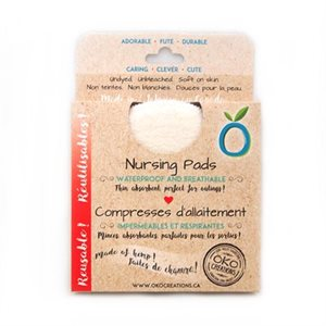 Hemp Nursing Pads - Waterproof Layer