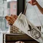 Conversation Baguette Bread Bag - Imperfect