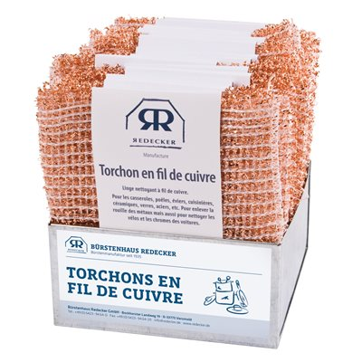 Redecker - Durable Copper Cleaning Cloth - 2-Pack