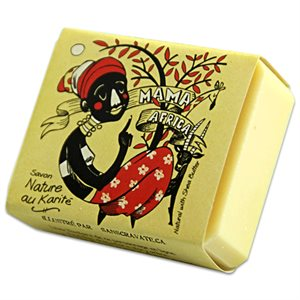 ''Mama Africa'' Unscented soap, 50% shea butter