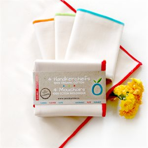 Organic Handkerchief (Unit) - Imperfect