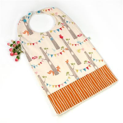 Big bib for little bellies - Enchanted forest