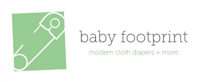 Baby Footprint Header