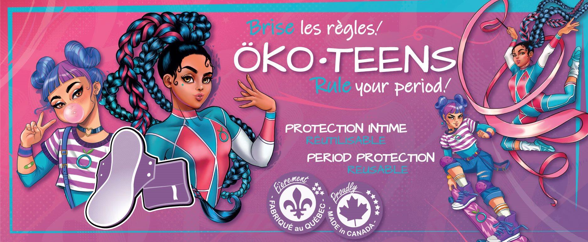 Brise Les Règle avec les Öko-Teens